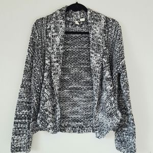 Anthropologie Moth open front very soft sweater